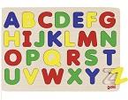Dřevěné puzzle abeceda katalog