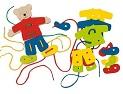 Provlékací hračka medvídek katalog