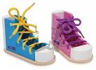 Barevné boty s tkaničkami katalog