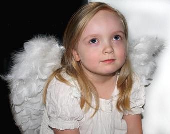 Anděl, Vánoce, Dívka, Přemýšlivý, Náboženský, Uctívání