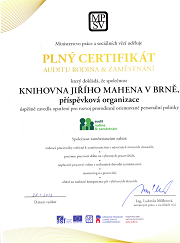 plný certifikát Rodina a zaměstnání
