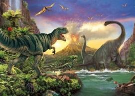 Puzzle dinosauři katalog