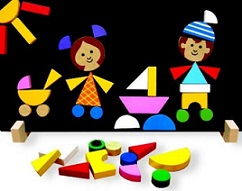 Děti - magnetické puzzle katalog