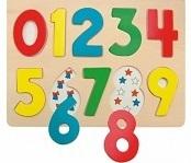 puzzle na desce číslice katalog