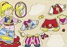 Oblékací puzzle princezna katalog
