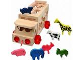 Skládací kamion se zvířaty katalog