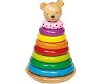 Dřevěný skládací houpací medvídek katalog