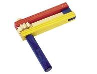 Barevná dřevěná řehtačka katalog