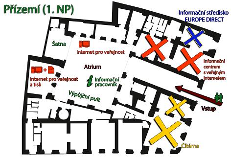 mapa atrium