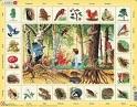 Objevné puzzle V lese katalog